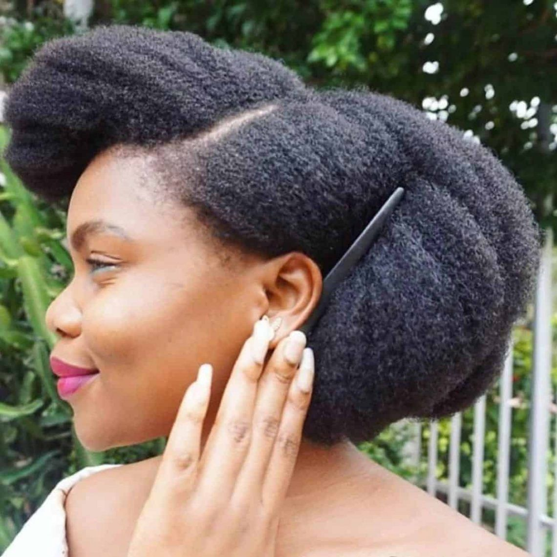 40 Different Ways To Style Your Natural Hair At Home Thrivenaija Baby Hairstyles Medium Length Hair Styles Natural Hair Styles