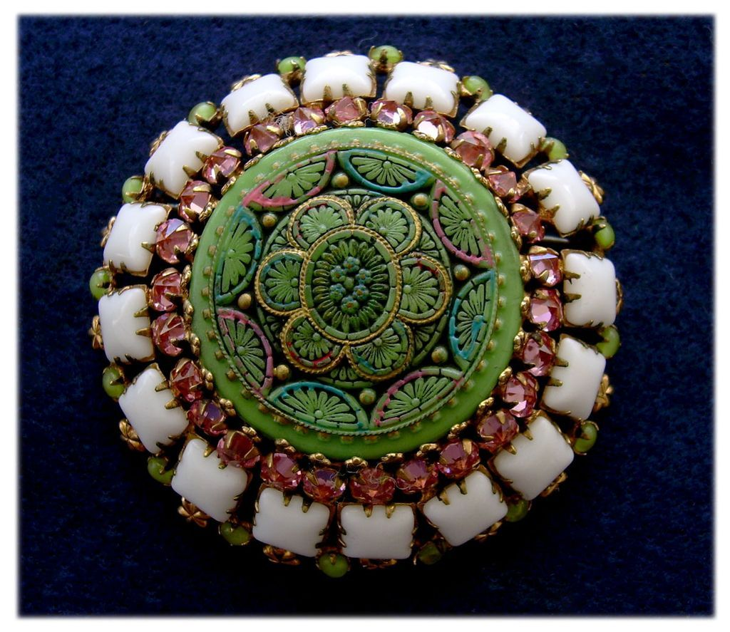 Antique & Vintage Jewelry Mosaics on Ruby Lane