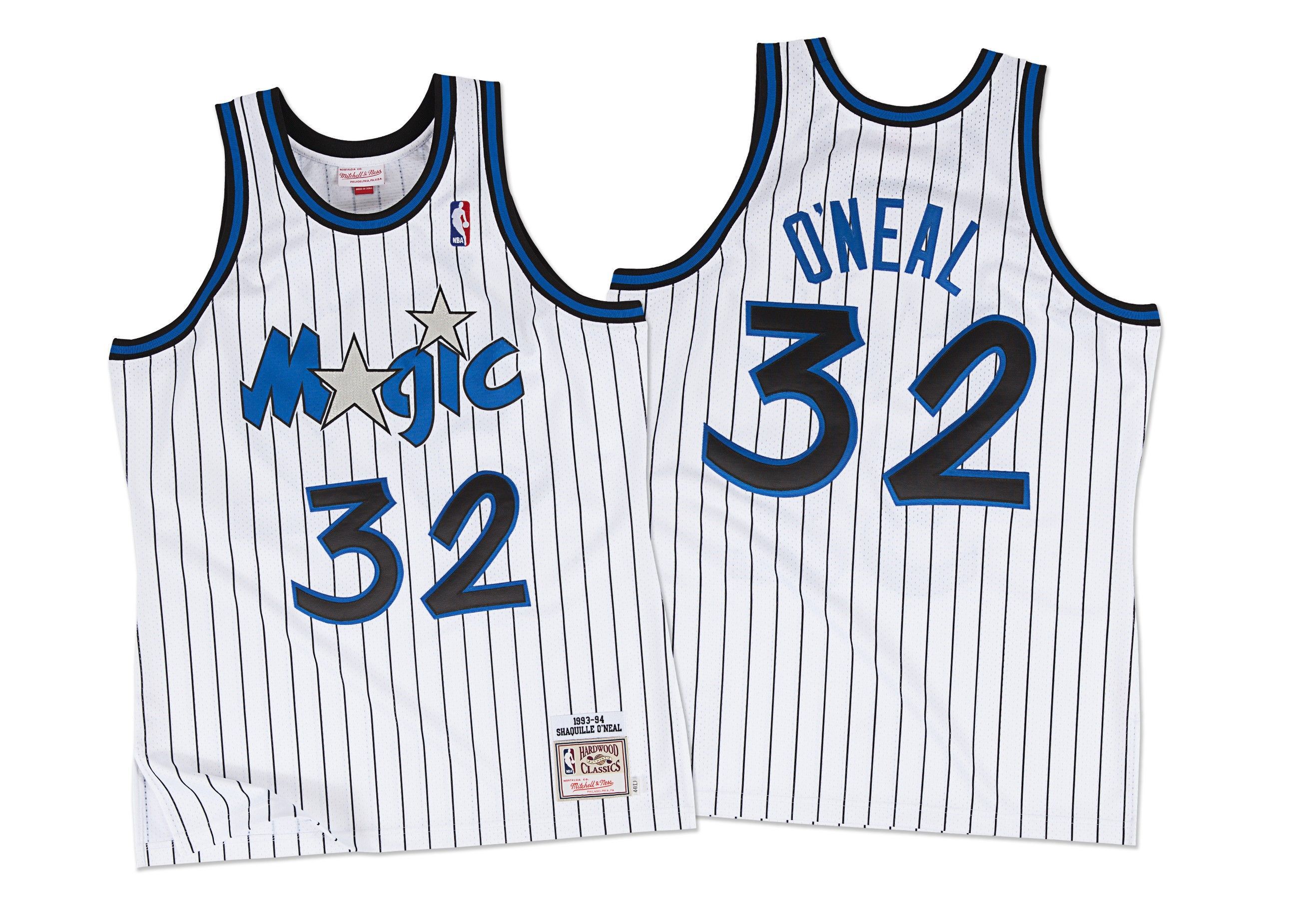 59eced435 Shaquille O Neal 1993-94 Authentic Jersey Orlando Magic Mitchell   Ness  Nostalgia Co.