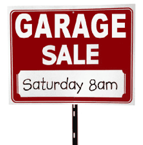 Setting Up A Garage Sale Garage Sale Tips Garage Sales Yard Sale