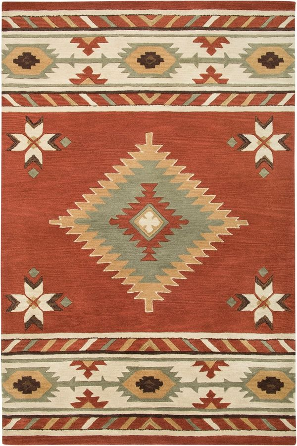 Rizzy Rugs Southwest Su 1822 Navajo Red Area