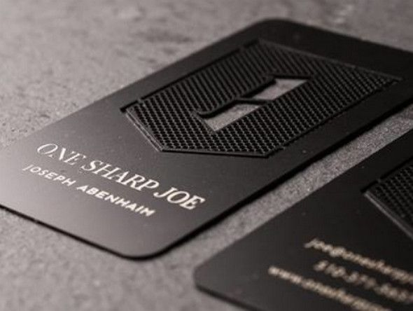 30 brilliant metal business cards business cards credit card metal business cards choices one sharp reheart Gallery