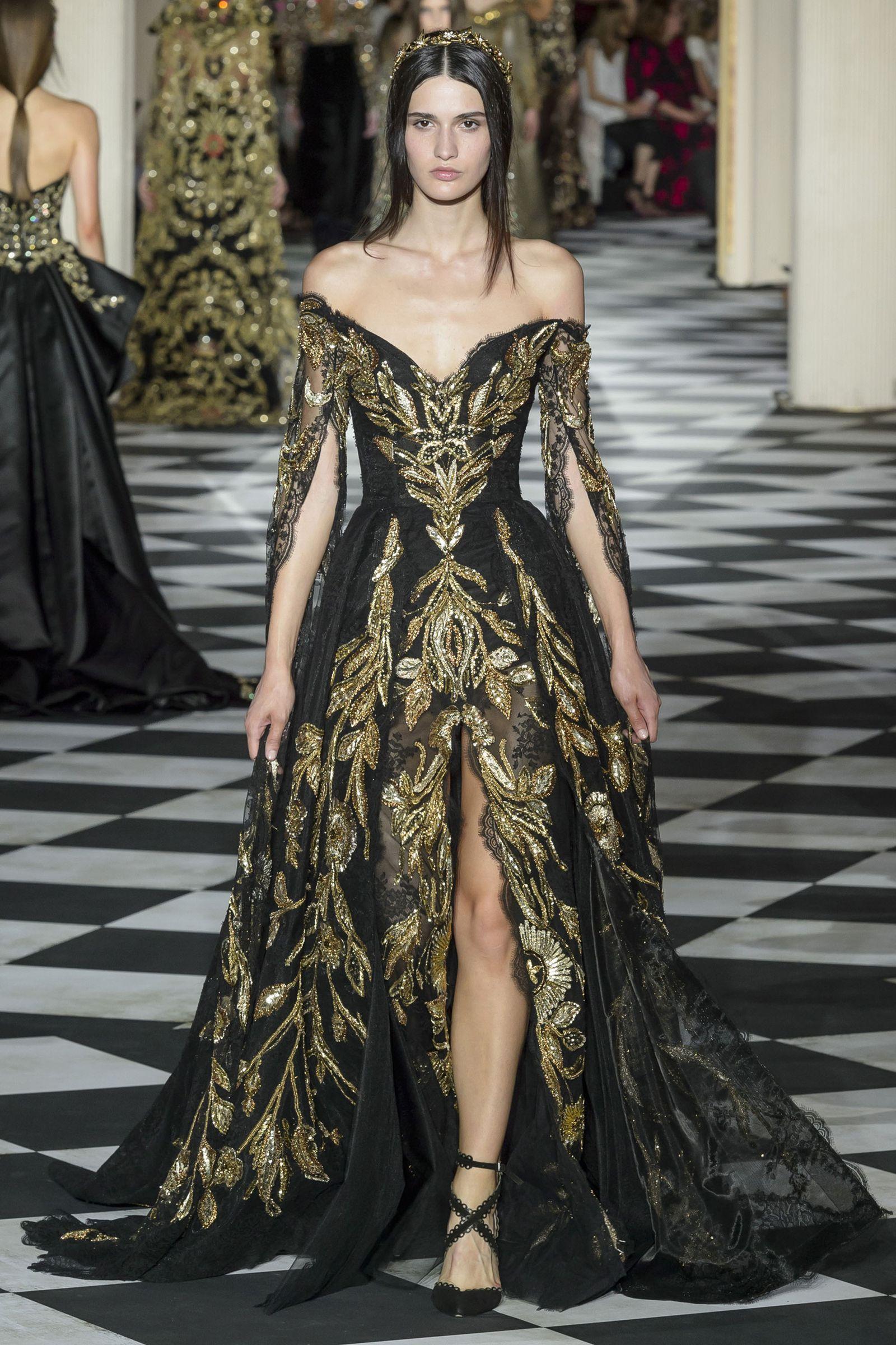 667556501 Zuhair Murad autumn winter 2019 couture collection - HarpersBAZAARUK