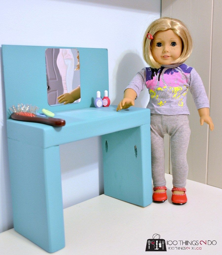 DIY Doll Furniture (for boys and girls)   100 Things 2 Do