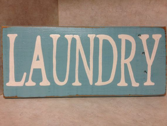 Laundry Sign by CreativeHeartsSigns on Etsy