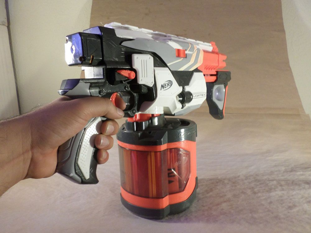 Nerf N-Strike Elite Hyperfire in Sustainable Packaging - The fastest  Full-Auto Blaster