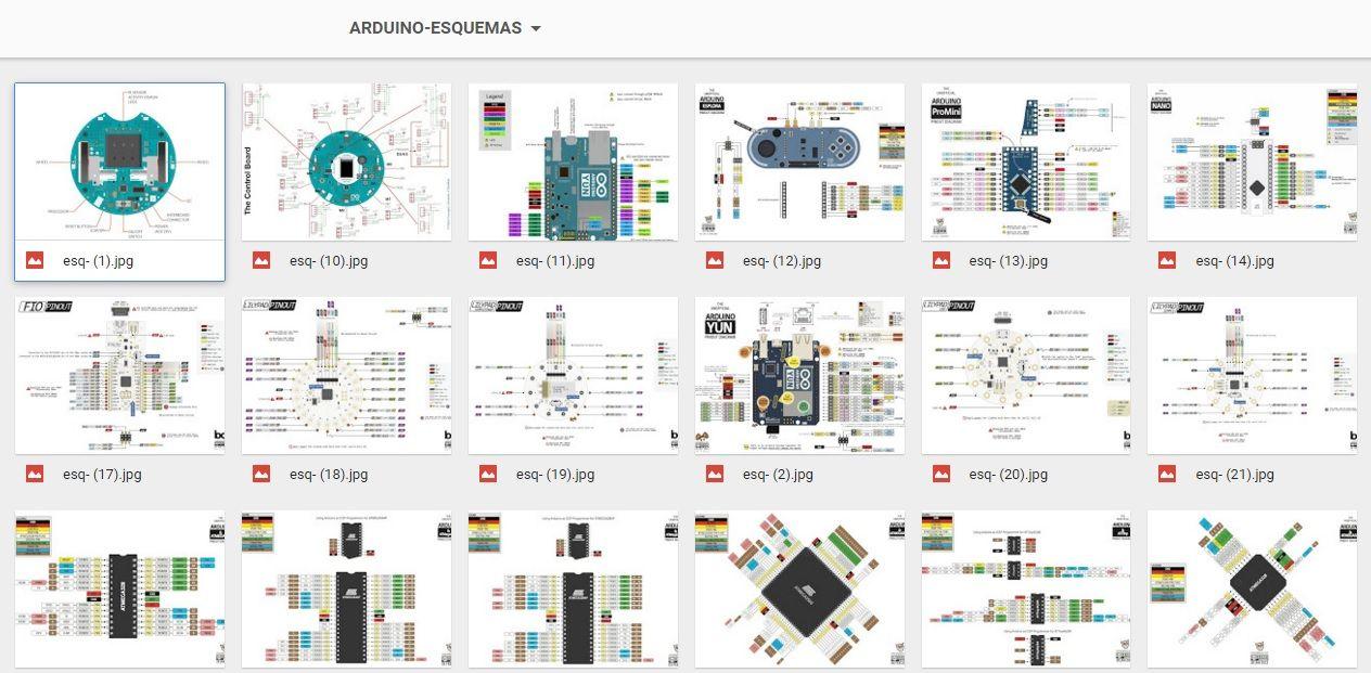 Arduino projetos esquemas liberado para