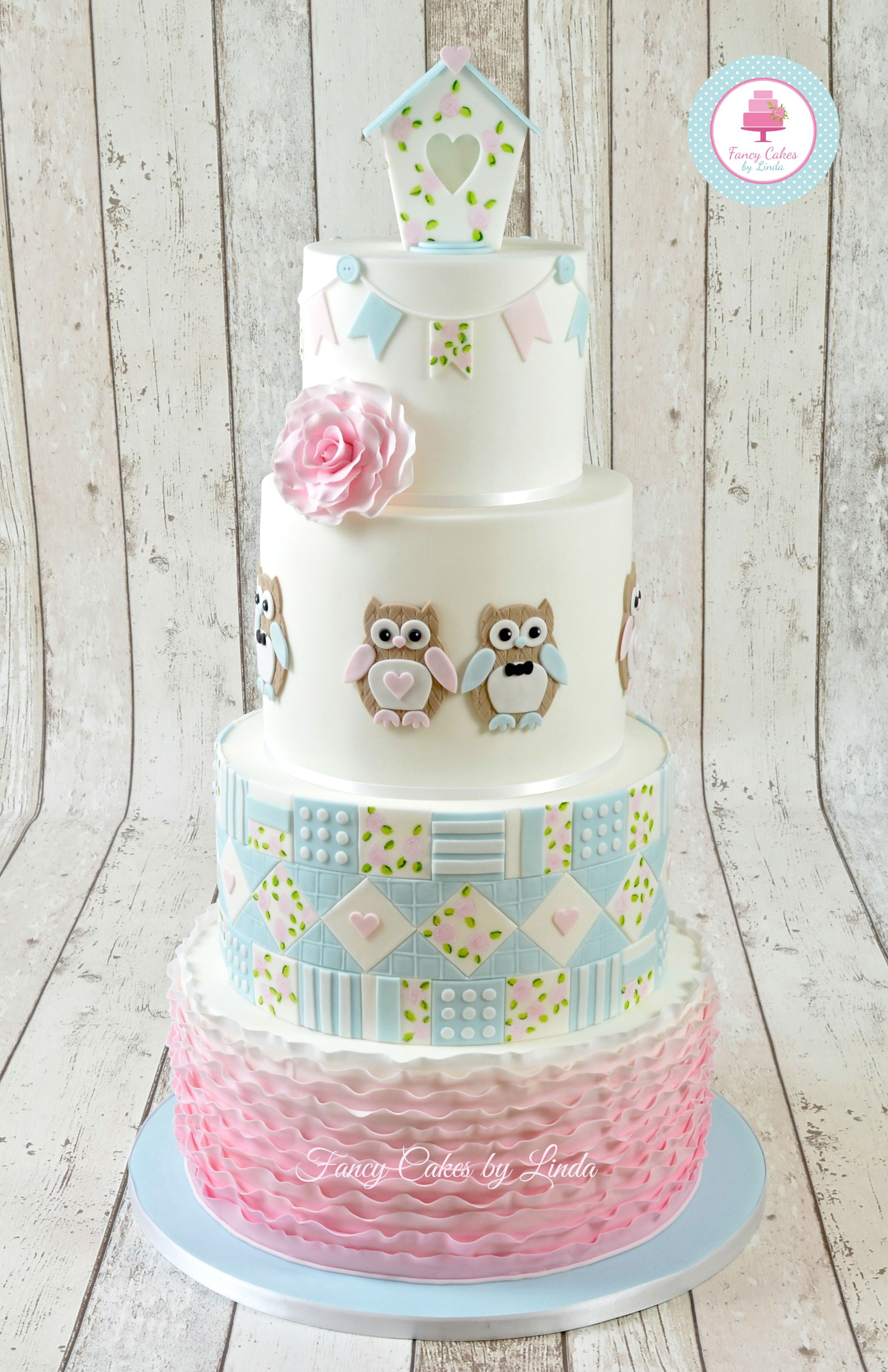 Mummy and Baby Owl Cutter Set Cake Decorating Sugarcraft Cutter FMM Sugarcraft