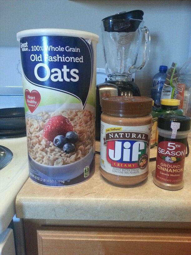 Mm one of my favorite snacks when I want something sweet.   1/2 cup old fashioned oats 2 Tbs of natural Peanut Butter A few dashes of cinnamon  #healthy #food #sweet #natural #fitness #kitchen #lifestyle #recipe #ideas  http://www.advocare.com/140612564