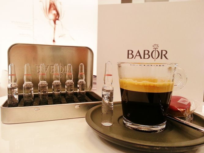 Perfect start: coffee and Babor Ampoules. Excellent daily ...