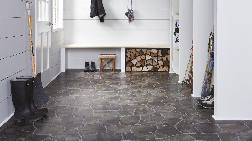 Flagstone 27042 Vinyl in 2020 House flooring, Vinyl