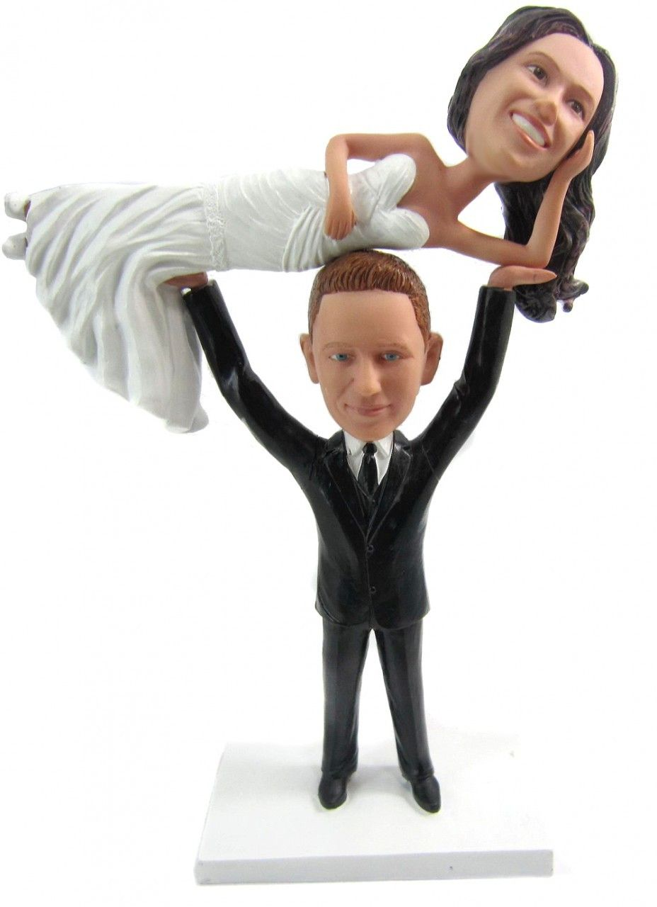 Custom Weightlifter Wedding Cake Topper   Wedding cake, Weddings and ...
