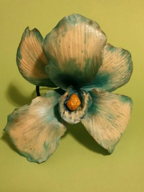 Orchid Flower Hair Pin