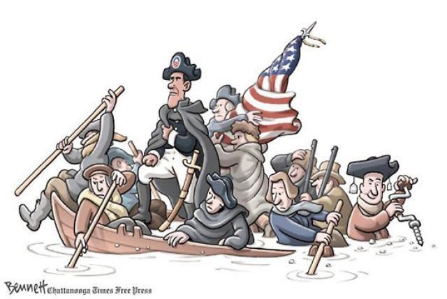 Cartoons and Memes: Political Cartoons