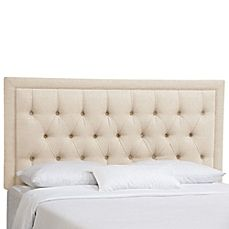 Image Of Customizable Tufted Headboard By Skyline Furniture