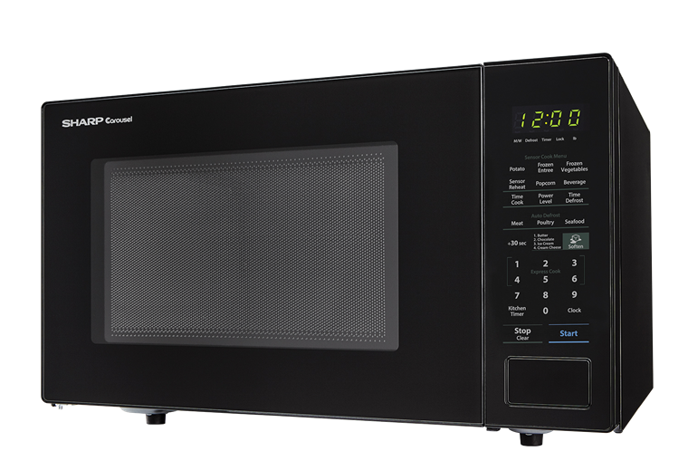 Sharp Carousel Countertop Microwave Oven 1 4 Cu Ft 1000w Black