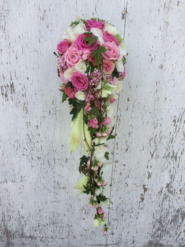 Blumen Wilking milles fleurs brautstrauß wasserfall 7 flower
