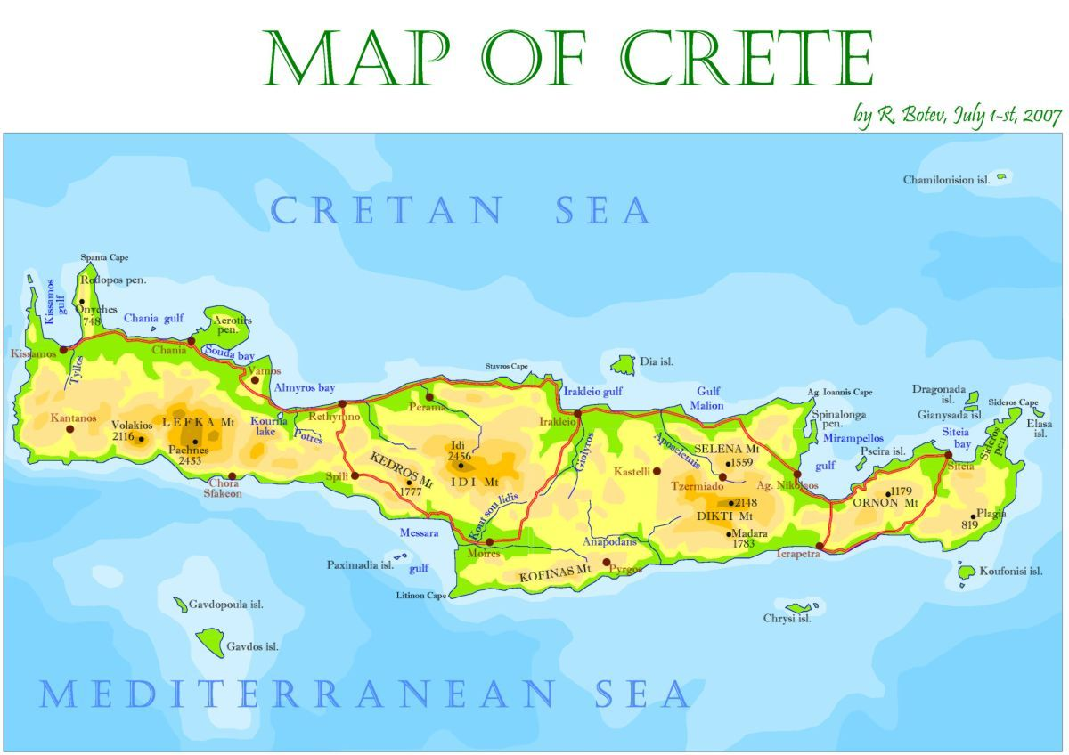 Crete Island 1 Tourist Travel Guide CRETE Pinterest Crete and