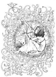 Art Adult Coloring Books Art Nouveau Coloring Pages Coloring