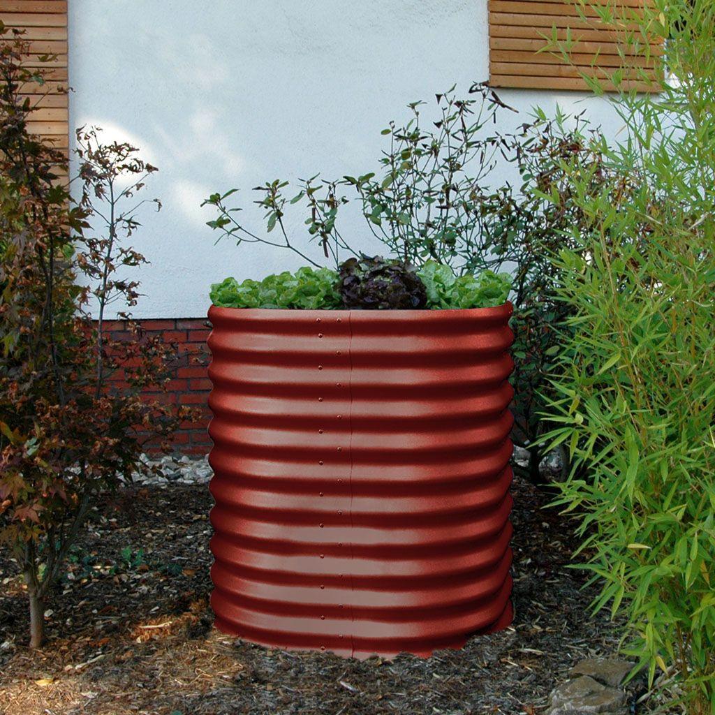 Hochbeet Terra Rund 86 Cm Hohe Hochbeet Gewachs Pflanzen