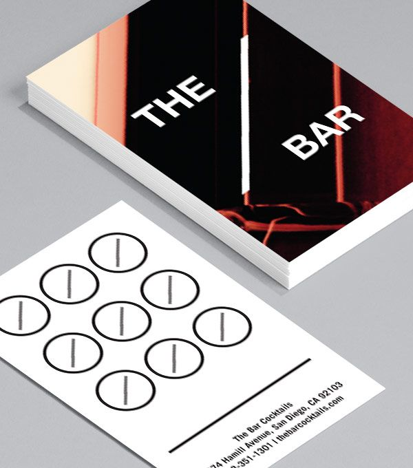 Business Cards Designs The Bar Soccer Pinterest - Moo business cards template