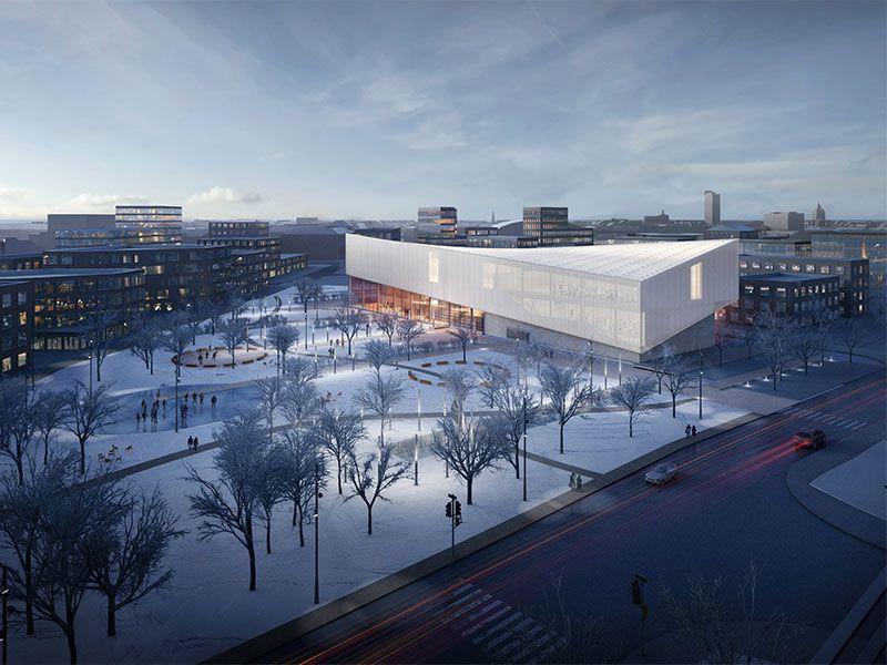 Henning Larsen Architects Mark Arhitekti The Latvian Museum Of
