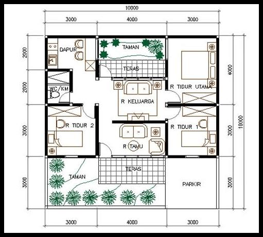 I1wp spacehistories wp content uploads 2017 08 5 denah info dan tips tentang rumah minimalis malvernweather Choice Image