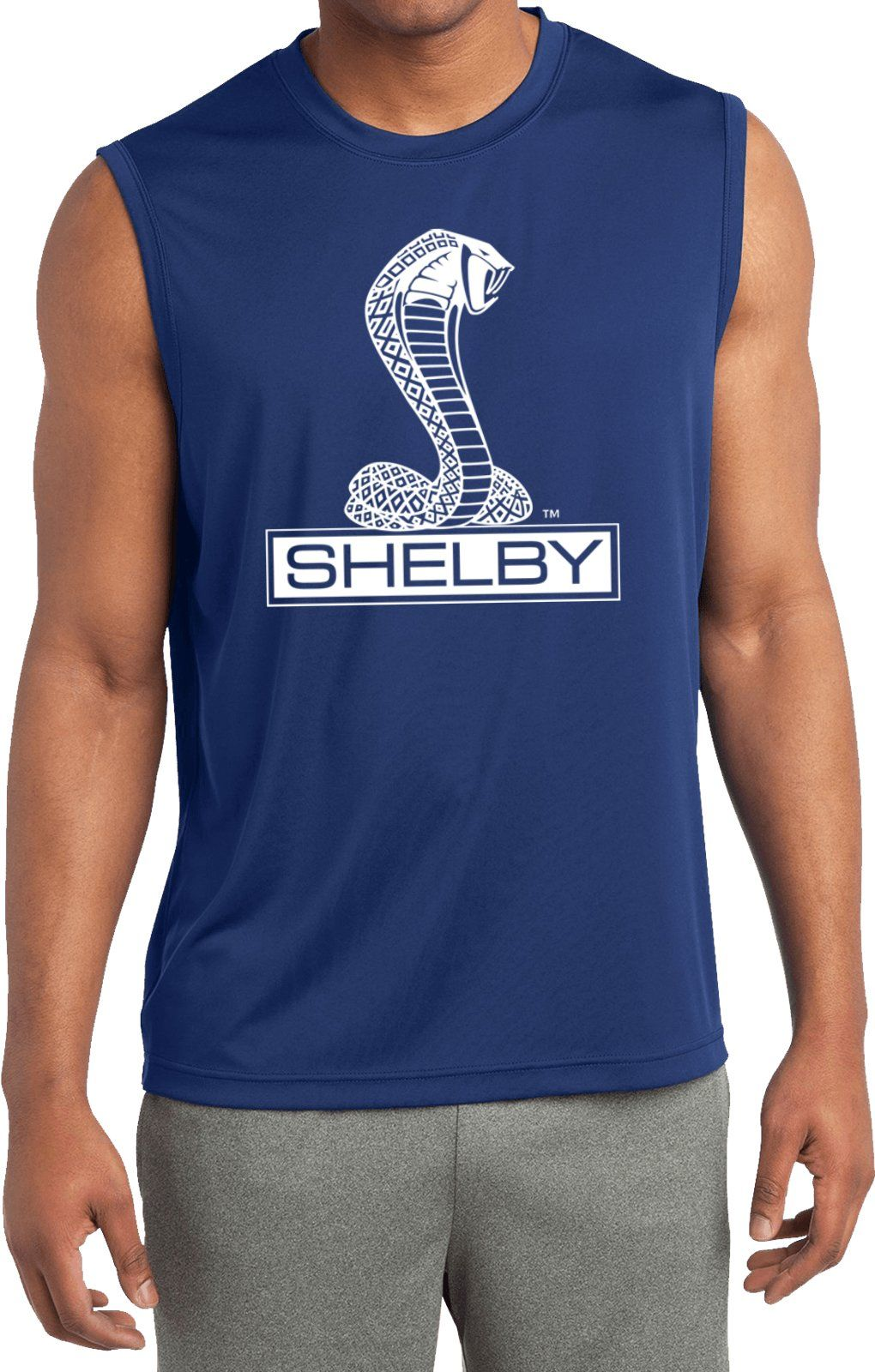 Mustang 50 Years Shelby Snake Men/'s Tank Top High Quality Brand New Shirts