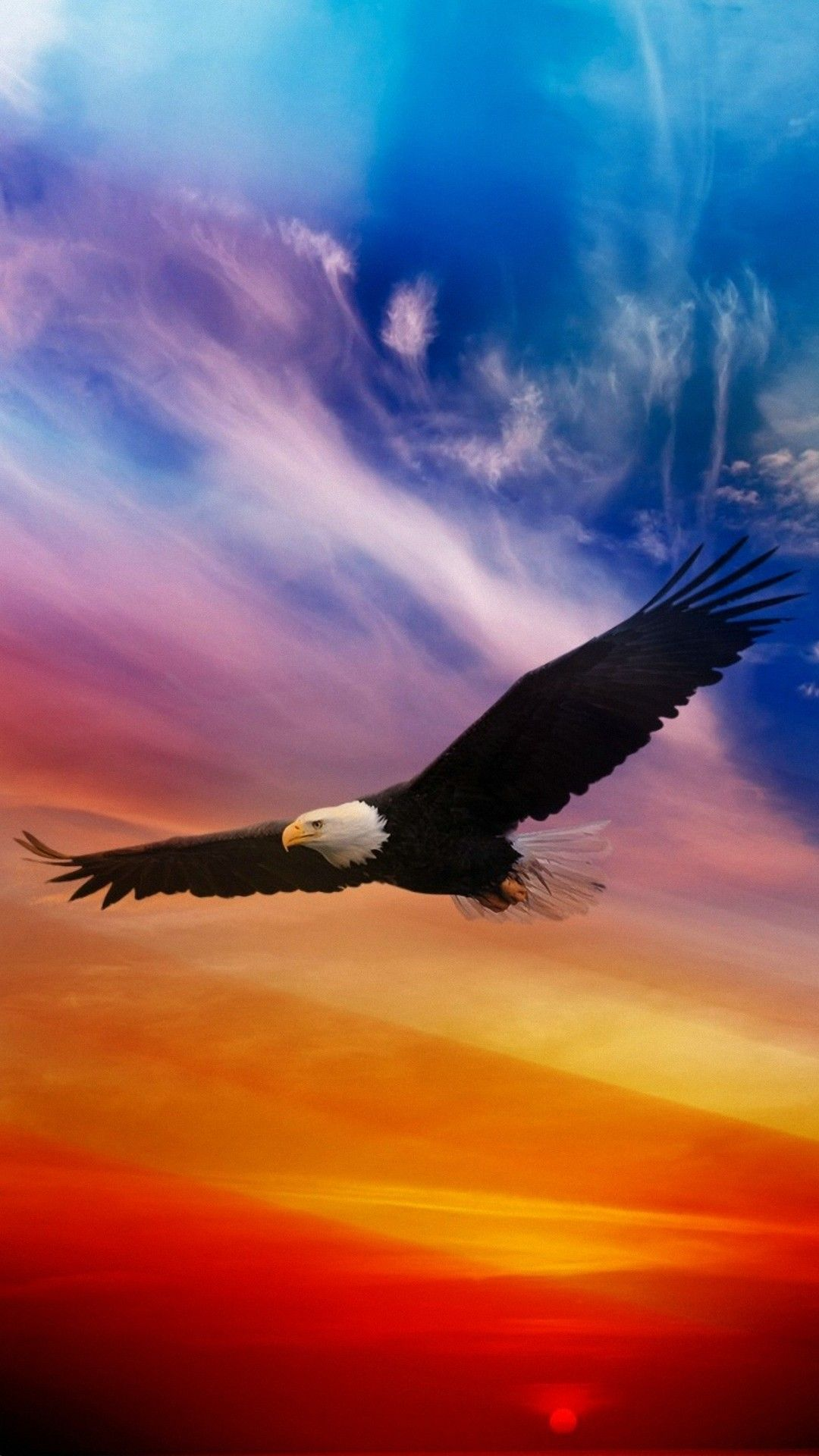 Eagle Wallpaper iPhone HD | iPhoneWallpapers | Eagle wallpaper, Sunset iphone wallpaper, Iphone ...