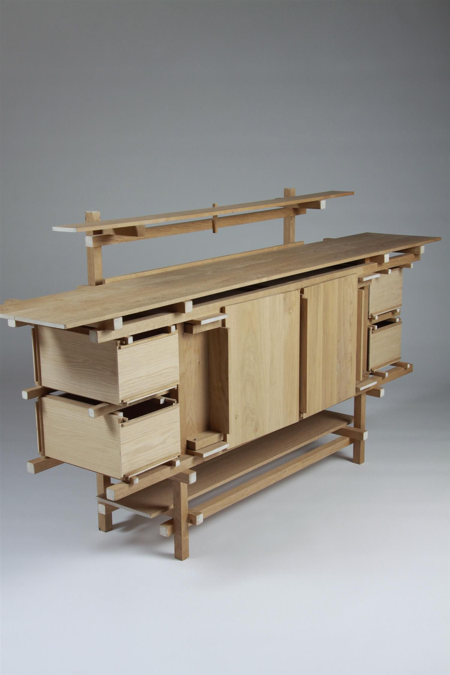 Sideboard Elling Designed By Gerrit Rietveld Holland 1919  # Muebles Battistin