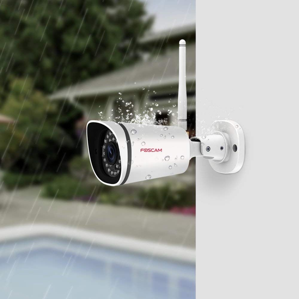 Foscam FI9900P 1080P 2.0MP Wifi Wireless Home Security IP Camera Zoom Waterproof