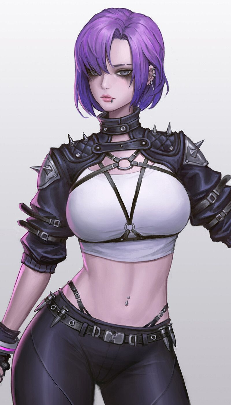 Photo of Cyberpunk girl, Nitro .