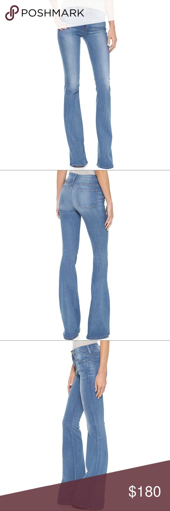 Frame Forever Karlie Tall Flare Jeans in Linden NWT | My Posh Picks ...