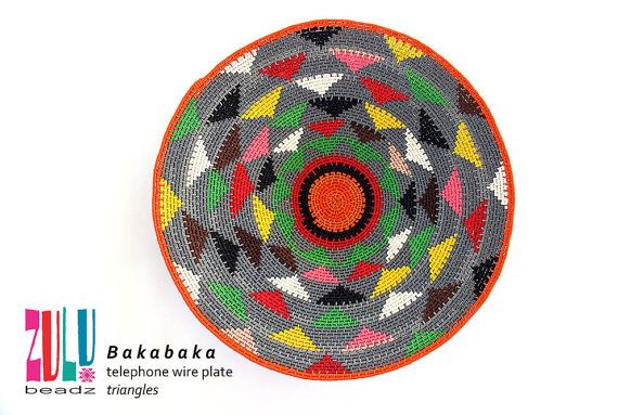 telephone wire plates/baskets