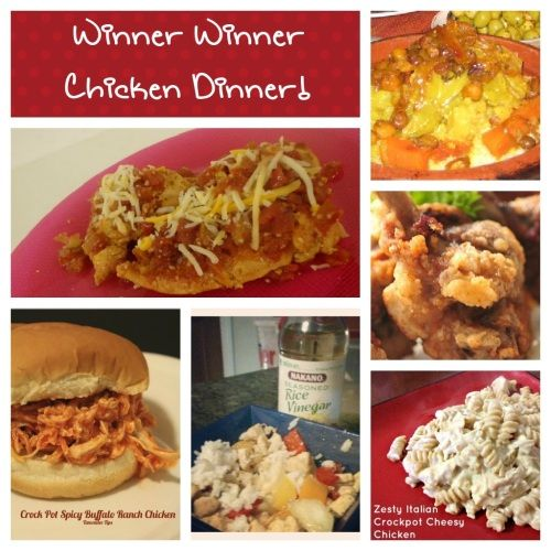 Winner winner chicken dinner a whopping 51 different for Different meals to make with chicken