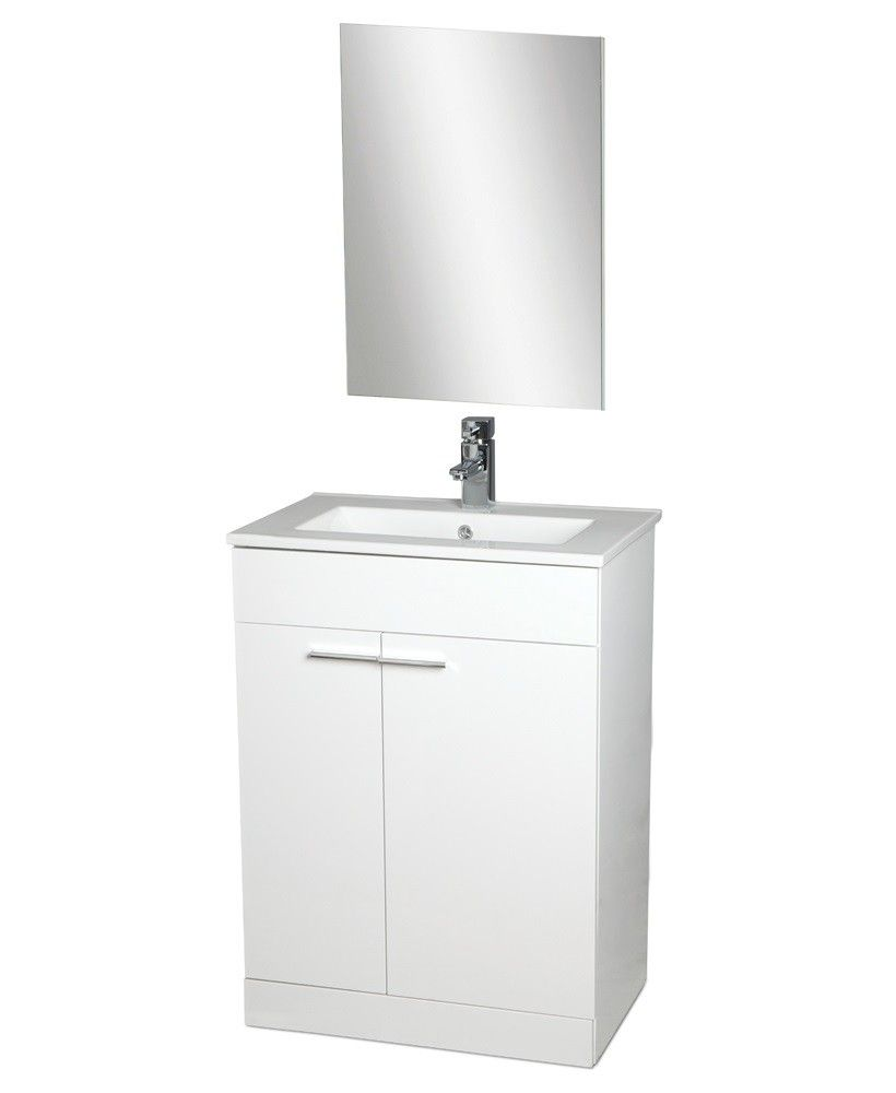 Spain 60cm Vanity Unit , Basin , Mirror AND Tap - £199 ...