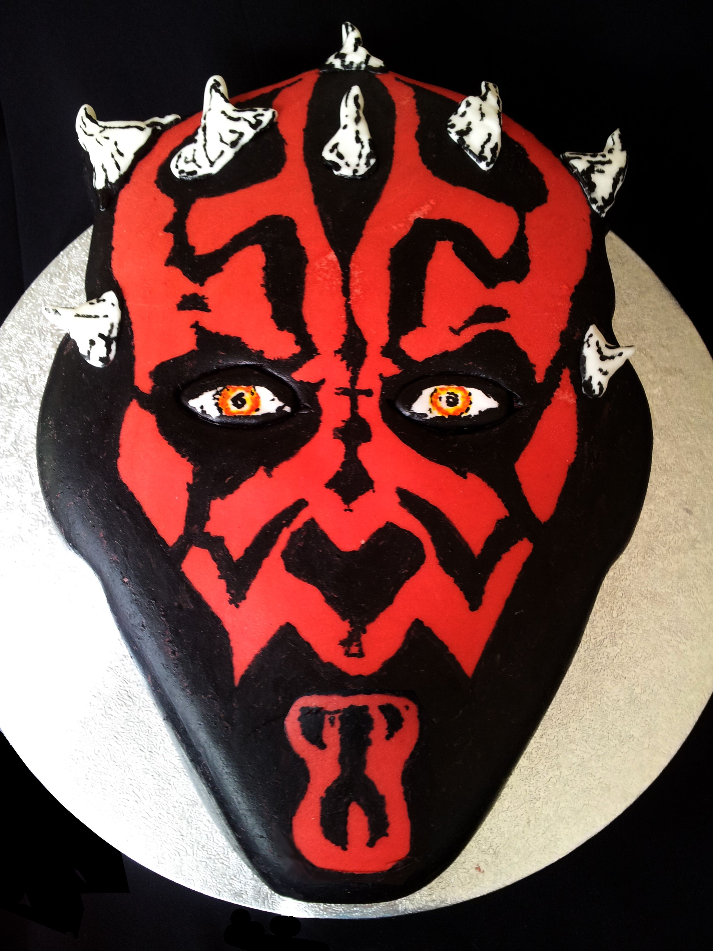 Darth Maul Portrait Cake For The Ultimate Personalised Celebration
