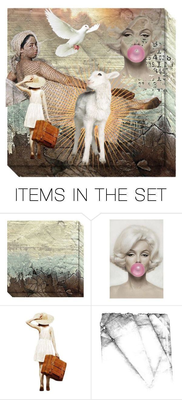 """The Lamb of God - Will Never Leave You!"" by dorataya ❤ liked on Polyvore featuring art, christian, Lamb_of_God and M_is_for_Miracles_contest"