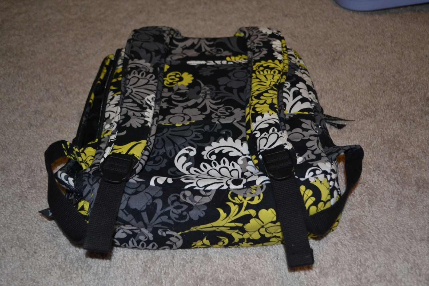 Vera Bradley Retired Baroque Pattern Large Backpack by CasiCustoms on Etsy