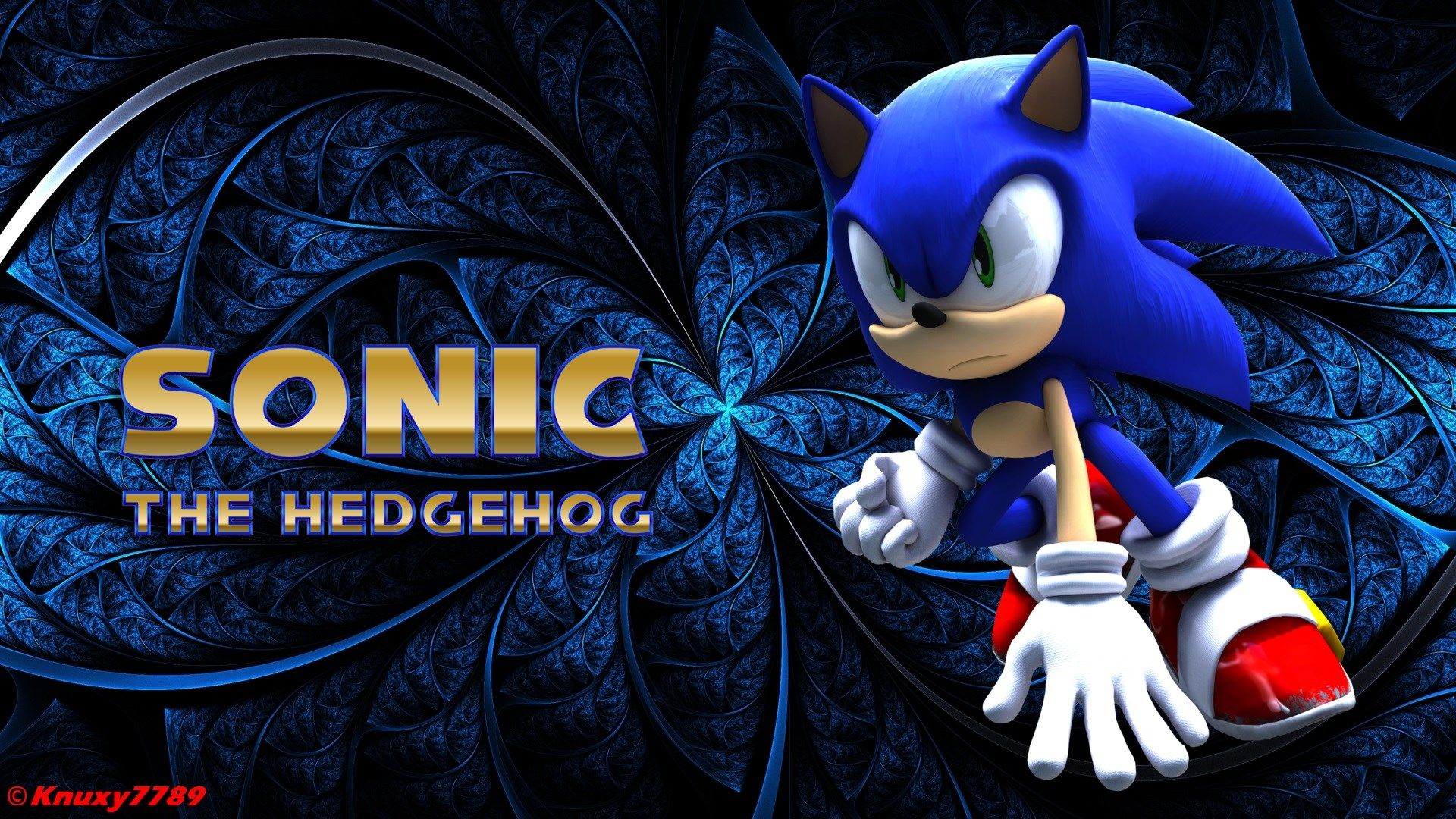 Sonic The Hedgehog Wallpaper By Knuxy7789