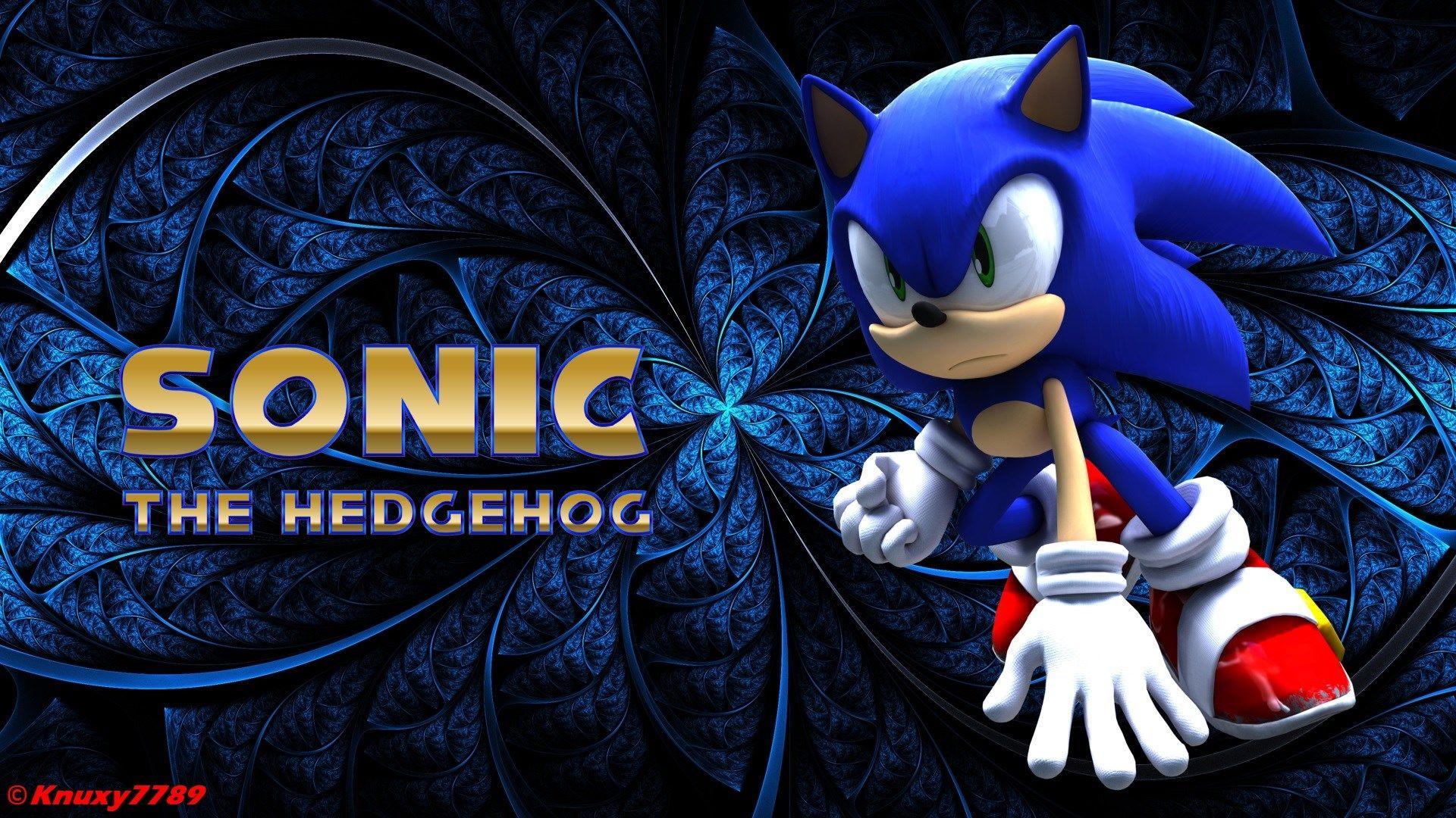 sonic the hedgehog wallpaper by knuxy7789 ololoshenka