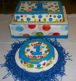 polka dot 1st birthday cake and smash cake see more first boy on first birthday cake recipe ideas