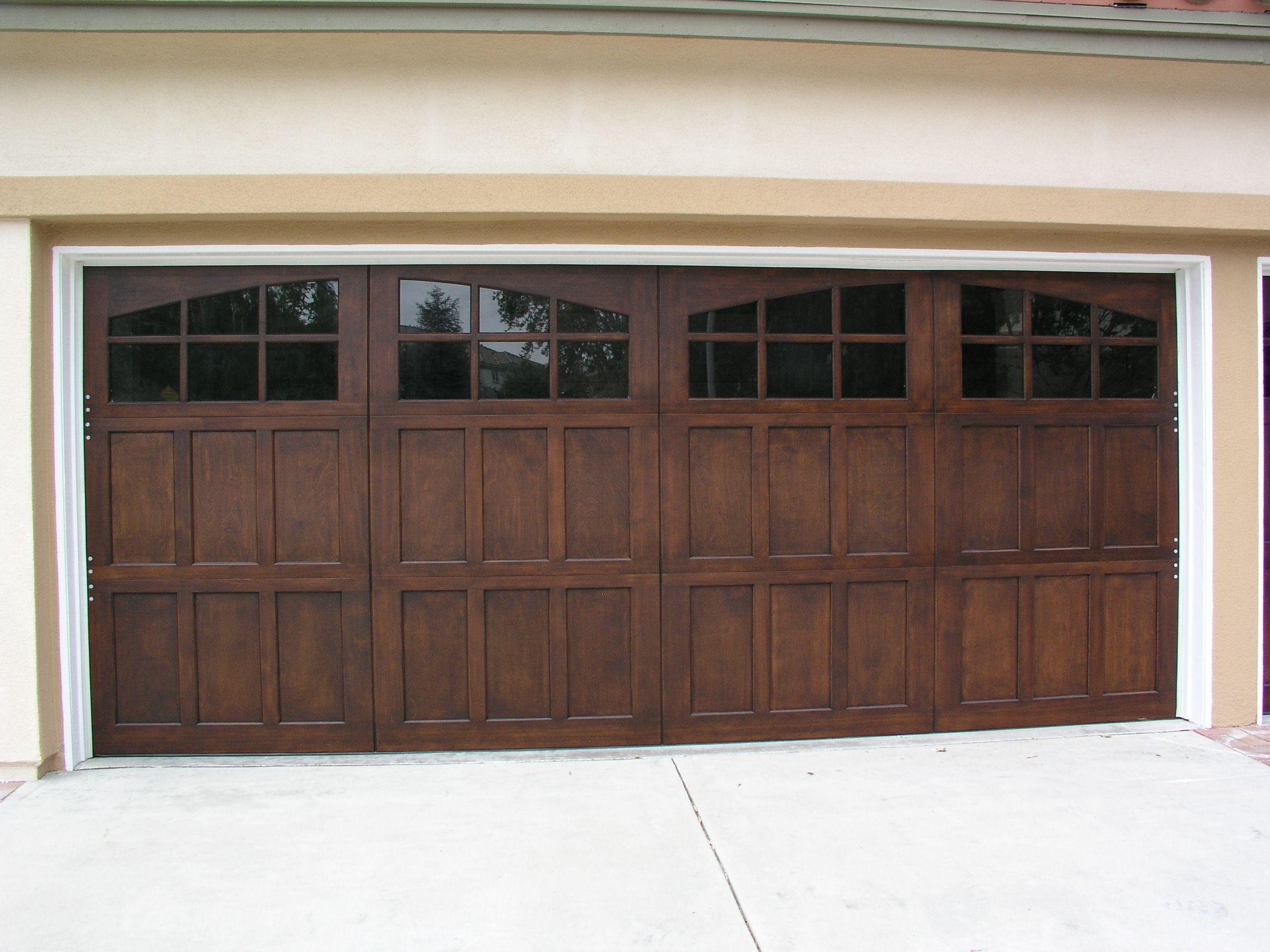 Beautiful Wayne Dalton 9700 Walnut Garage Door Los