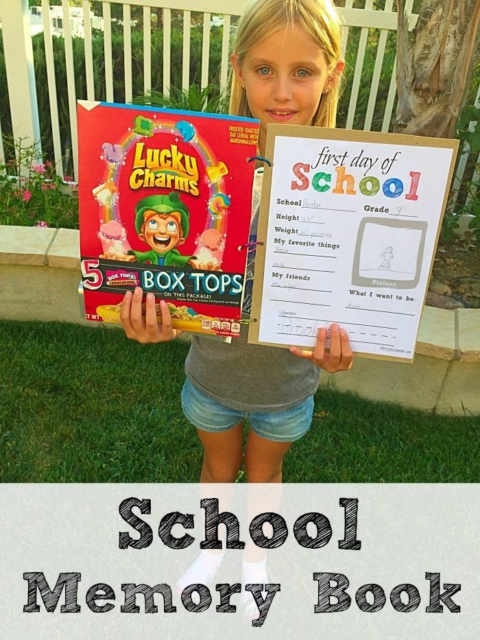 Free first day of school printable and memory book ideas for school free first day of school printable and memory book ideas for school that area easy to solutioingenieria Choice Image