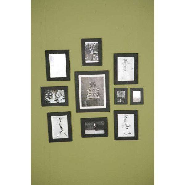 Picture Frame Set Of 10 With Images Picture Frame Sets Picture Frames Frame Set