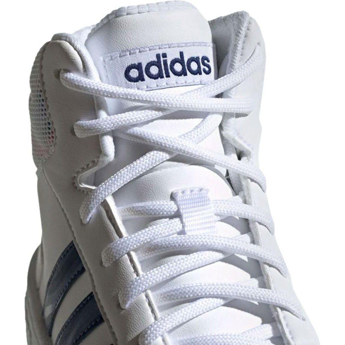 Buty Adidas Hoops Mid 2 0 Jr Ee8546 Biale Adidas Sports Shoes Adidas Kid Shoes