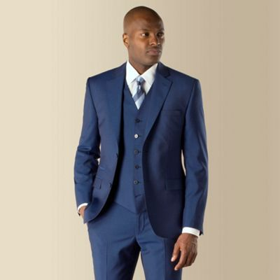 The Stvdio By Jeff Banks Modern Fit Suit Is Shorter Sharper And Er Harking Back To Modernist Movement Of This Blue Mohair Look