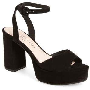 0029dd10798 Chinese Laundry Theresa Platform Sandal. Chinese Laundry Theresa Platform  Sandal Black Heels ...