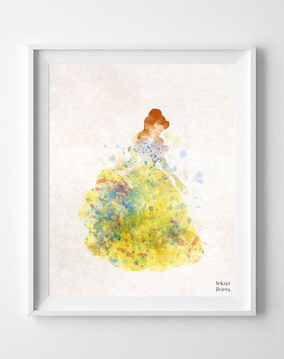 Disney Princess, Belle Poster, Beauty and Beast, Belle Art, Belle ...