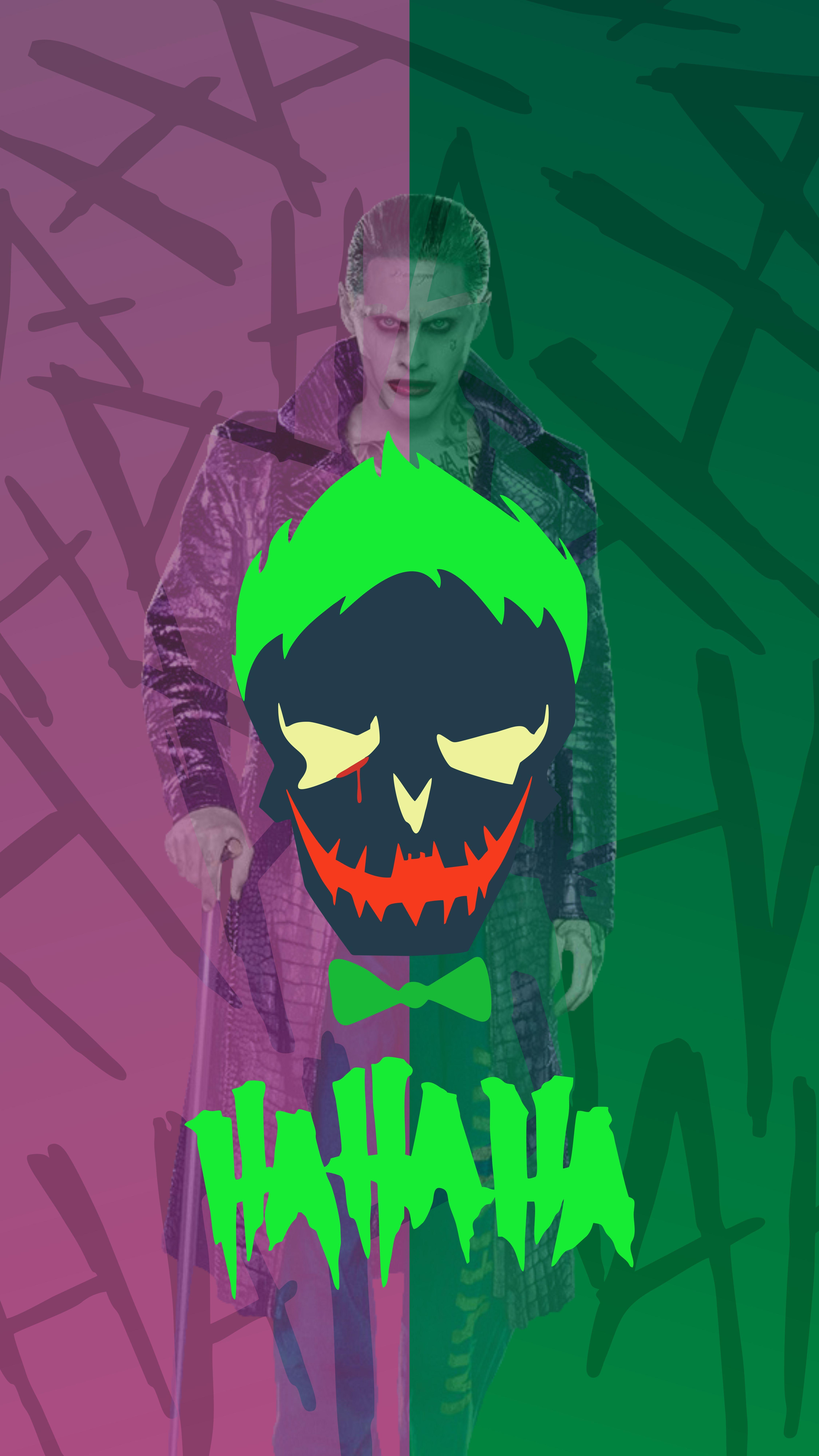 Android Iphone Hd Wallpaper Joker Dc Dceu Dccomics Joker
